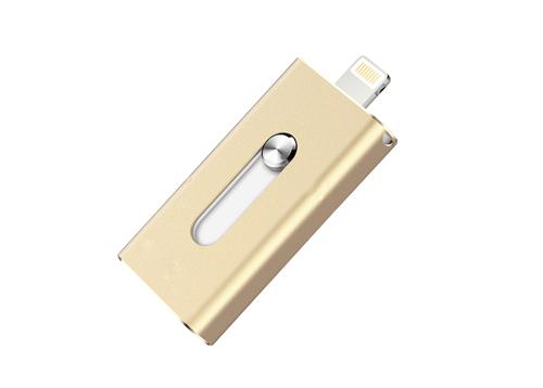 苹果手机u盘全金属铝合金机身cnc工艺切割